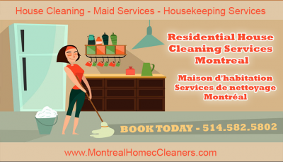 Montreal Home Cleaners – Maid Services, Housekeeping Services Montreal