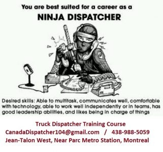WORK FROM HOME - LEARN & BECOME A TRUCK DISPATCHER