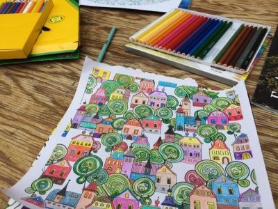Meditative Colouring