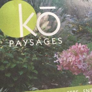 Ko Paysage inc.