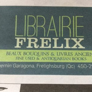 Librairie Frelix