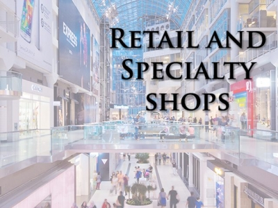 Retail and Specialty Shops