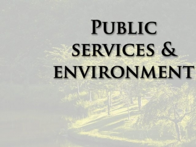 Public Services and Environment