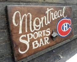 Sports games in Montreal... where to watch?