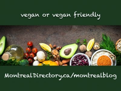 Top 10 Vegan or Vegan friendly Restaurants